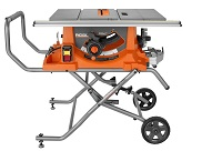 A Ridgid Table Saw